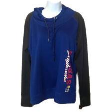 Kansas Jayhawks blue gray hoodie sweat shirt large women Sweatshirt Gift College