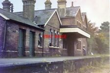 PHOTO  1979 DISUSED  ITCHEN ABBAS RAILWAY STATION ON THE FORMER WINCHESTER & ALT