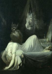 Nachtmahr II  Henry Fuseli Schweiz Gespenst Johann Füssli 04