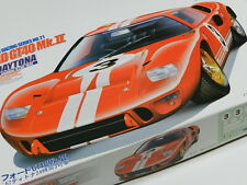Vintage 1967 Red Ford Daytona GT 40 Race Car Model Kit Scale 1/24 New