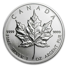 1993 Canada 1 oz Silver Maple Leaf Bu - Sku #11056