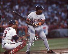 CECIL FIELDER Photo Detroit Tigers in action @ bat 1991 (c)