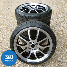 "NEW GENUINE MINI  R56 COOPER S JCW 18"" R105 DOUBLE SPOKE ALLOY WHEELS TYRES SET"