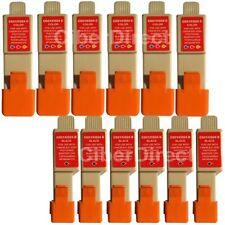 12 compatible CANON BCI-24 BK/C printer ink cartridges