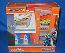 MATCHBOX GARAGE ADVENTURE SET NEW H8437/88436