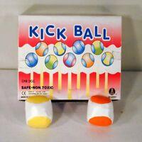 6 KICK BALLS WOVEN HACKY SACK FOOT BALLS BAGS HACKEY PARTY SUPER FAST SHIPPING