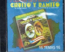 CHUITO Y RAMITO - DOS GIGANTES DE LA MUSICA TIPICA- CHUITO EL DE BAYAMON-CD