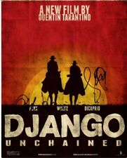 DJANGO UNCHAINED signed autographed 11x14 photo CHRISTOPH WALTZ & JAMIE FOXX
