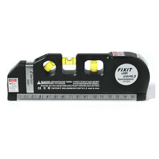 Aligner Laser Level Horizontal Vertical Line Measure Tape Ruler Measuring Tape