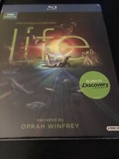 Life (Blu-ray Disc, 2010, 4-Disc Set) 11 Part Blockbuster 130 Episodes Oprah BBC