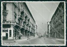 Milano Città Via Vitruvio FG Foto cartolina RT5910