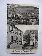Ansichtskarte Sölden bei Freiburg Breisgau 50er