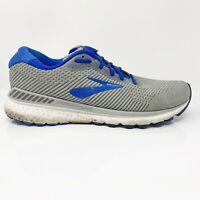 Brooks Mens Adrenaline GTS 20 1103072E051 Gray Blue Running Shoes Size 12 2E