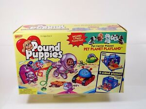 Galoob Pound Puppies Pet Planet Playland MISB