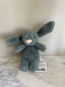 NEW Jellycat Bashful Forest Bunny Bag Charm /key ring