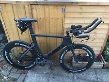 Planet X Exocet 2 Dura Ace Carbon TT Bike XL With Planet Deep Rim Tubs