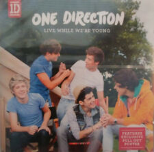 ONE DIRECTION - LIVE WHILE WE'RE YOUNG CD - BRAND NEW