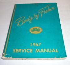 Werkstatthandbuch Service Manual Body Karosserie Chevrolet Buick Cadillac ..1967