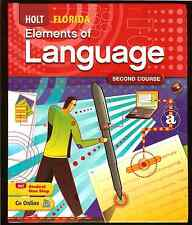 Elements of Language Florida Second Course by Holt