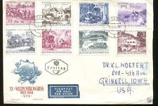 Stamps on AUSTRIA Airmail First Day Cover #729 -36