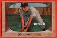 1955 Bowman #10 Phil Rizzuto VG-VGEX+ HOF New York Yankees FREE SHIPPING