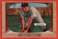 1955 Bowman #10 Phil Rizzuto VG-VGEX+ HOF New York Yankees FREE SHIPPING