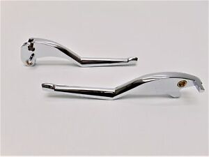 Kuryakyn Gloss Black Legacy Levers Pair for Indian 2015-2018 Scout Models