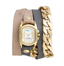 La Mer Collections Wellington Malibu Wrap Bracelet Watch Multi Women 5119