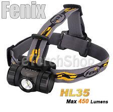 Fenix HL35 Cree R5 & Red LED 450LM AA 14500 Battery Rotatable Headlamp Flashligh