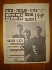 NME #941 1965 JAN 22 SHELLEY STONES PROBY KINKS BEATLES