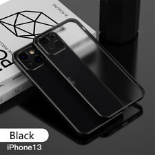 Plating Straight Edge Soft Tpu Phone Case Cover for Iphone 13 /Pro/ Pro Max/Mini