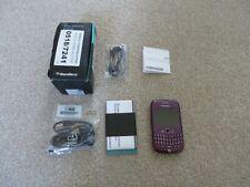 PURPLE O2 BLACKBERRY CURVE 8520 SMARTPHONE