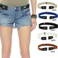 Buckle-free Elastic Band Invisible Waist Belts For Women Hassle No Bulge E4C4