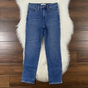 Madewell Women's Size 26 Manchester Wash Stovepipe Denim Jeans