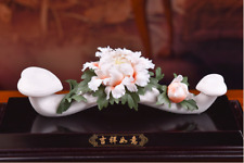 China Dehua Farbe Porzellan Günstige Baum Pfingstrose Blume Ru Yi Ruyi Wünsche