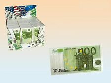 € 100 Euro Money Paper Tissue Napkin 3 Ply Joke Gag Fake Gift Facial Casino Fun