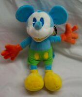 "Walt Disney Parks SOFT COLORFUL MICKEY MOUSE 10"" Plush Stuffed Animal NEW"