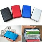 RFID Blocking Aluminum Credit Card Holder Wallet Hard Case Anti Scan Theft Hot