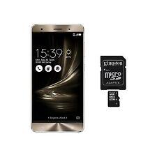 """ASUS Zenfone 3 Deluxe 5.5"""" ZS550KL 64gb/4gb Unlocked Smartphone Gold HK"""