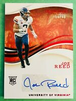 "14/49! 2020 Immaculate JOE REED ""Autographed"" RED Parallel Rookie Auto Card #75"