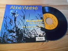 """7"""" Religion Abbe Wothke - Europalied (4 Song) TUBA REC / C.E.D. FRANCE"""