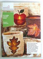 Anita Goodesign Autumn Votive Bags Projects 15 Different Bag Designs NEW PROJ94