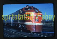 CRIP Rock Island EMD F8A Locomotive #653 - Duplicate 35mm Railroad Slide