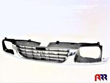 HOLDEN RODEO R9 TF 98-02 CHROME BLACK GRILLE STRAIGHT BOTTOM