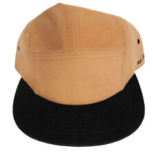 FLEXFIT - CANVAS/SUEDE LOOK 5 PANEL FIXIE - BRICK/BLACK - CAP - NEW