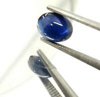 SA056 1x Saphir Blau Rund Cabochon 3,0mm