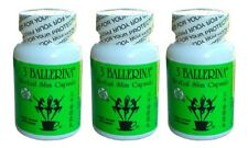 3 Bottles of 3 Ballerina Herbal Slim Capsule (30 Capsules)/Diet Supplement
