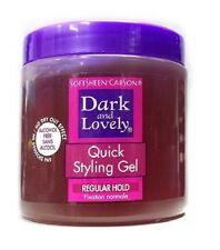 Dark and Lovely Quick Styling Gel Regular Hold - Alcohol Free  450ml