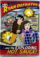 Ryan Defrates Secret Agent - and The Exploding Hot Sauce DVD