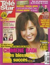 Tele Star N° 1482 Du 21/02/2005 - CHIMENE BADI - PIERRE BACHELET - AMEL BENT -